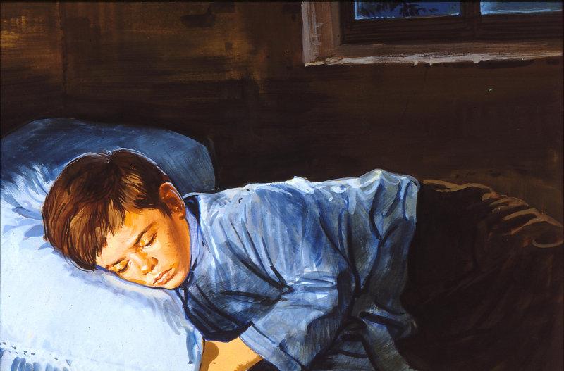 Il sogno dei 9 anni (dipinti di Nino Musio, Elledici)