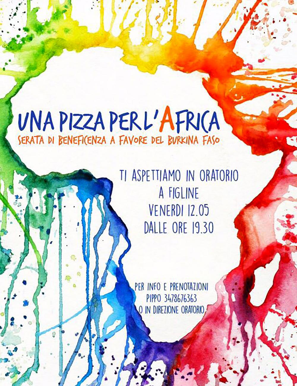 Una pizza per l'Africa