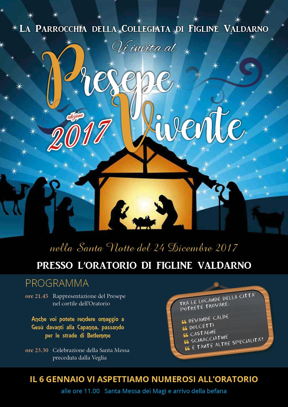 Locandina Presepe Vivente 2017