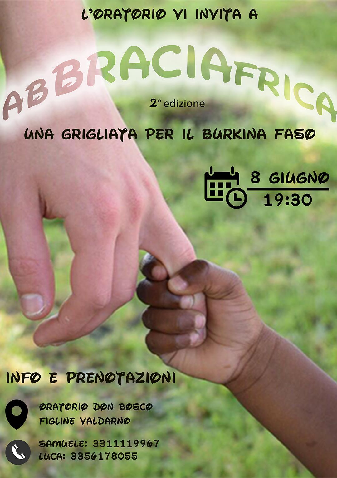 AbBRACIAfrica - Una grigliata per il Burkina Faso
