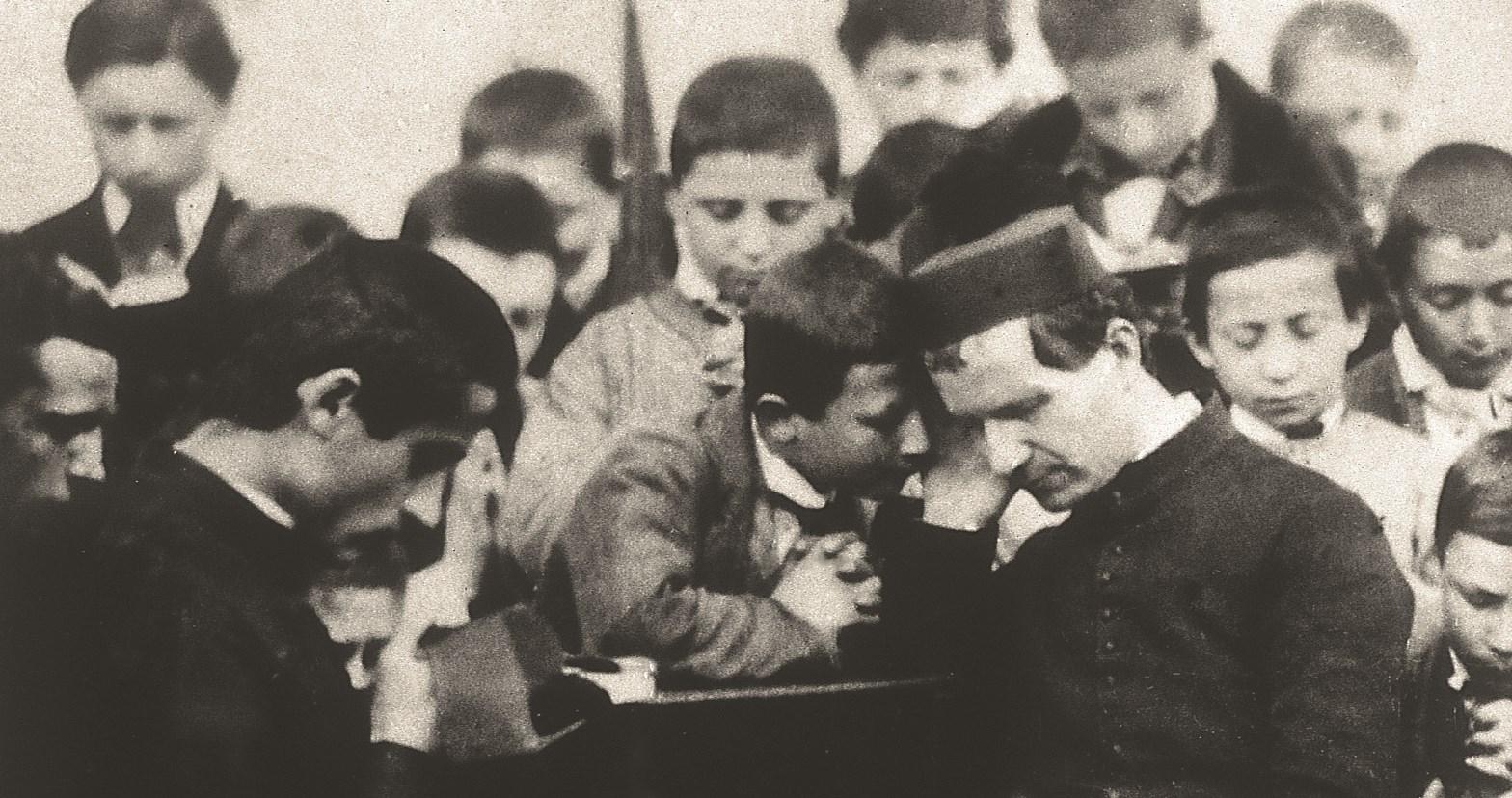 Foto storica di don Bosco