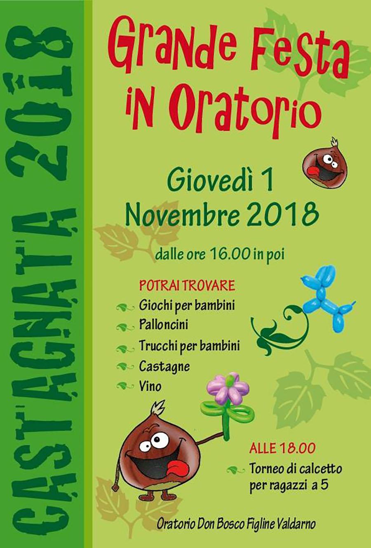 Castagnata 2018 in oratorio