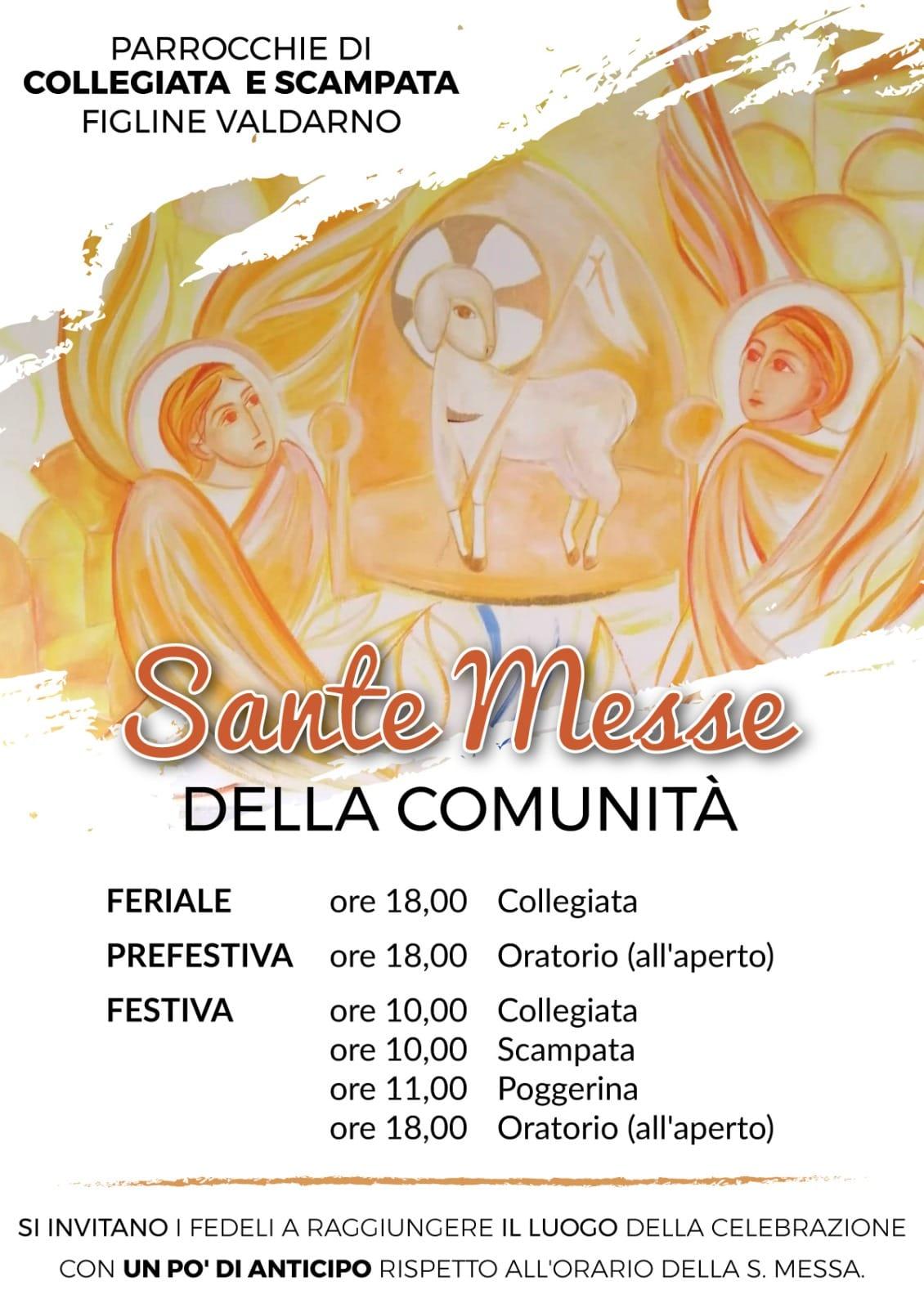 Orario S. Messe Parrocchie Figline e Incisa Valdarno